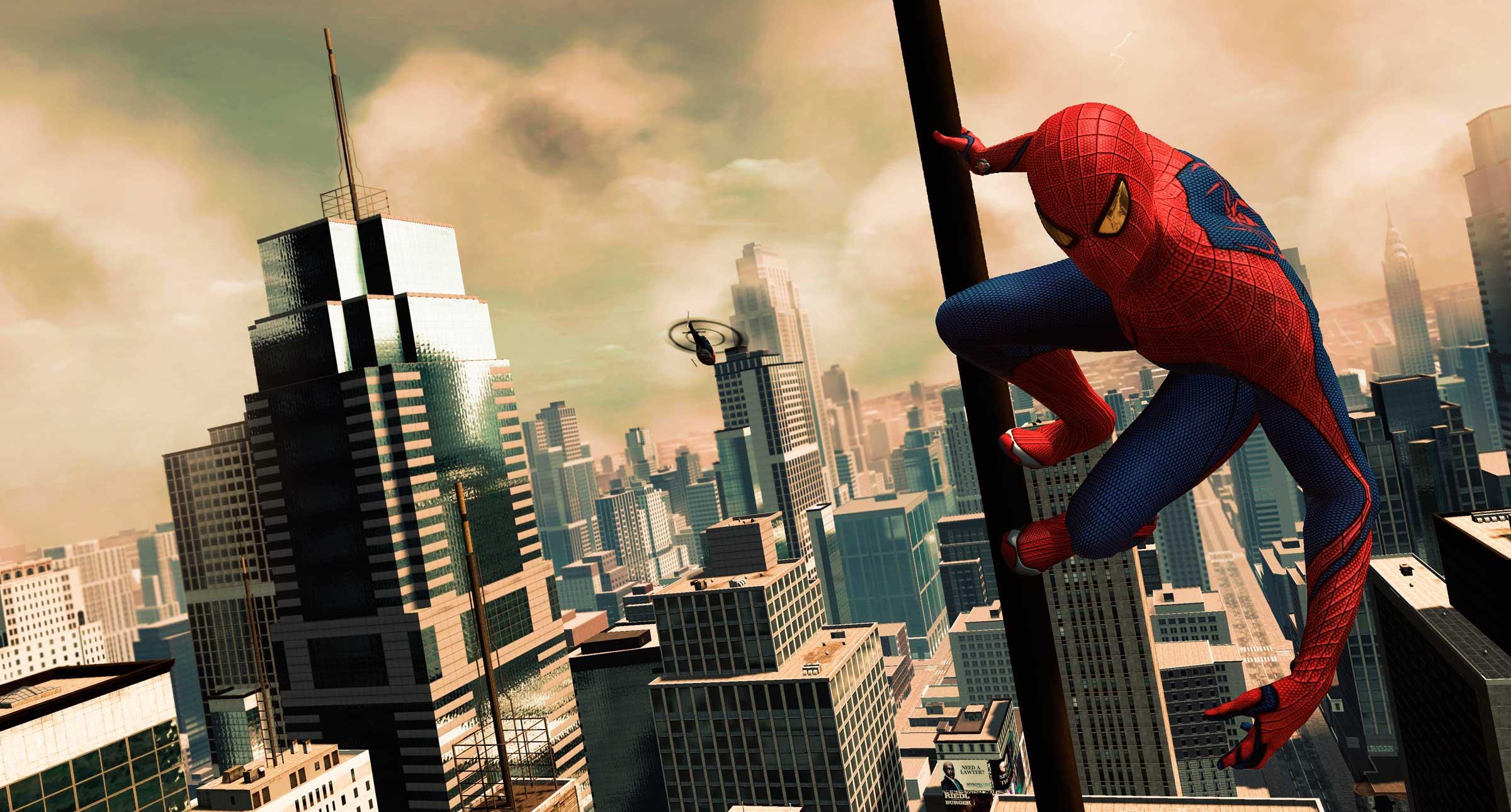 videojuegos The Amazing spider-man