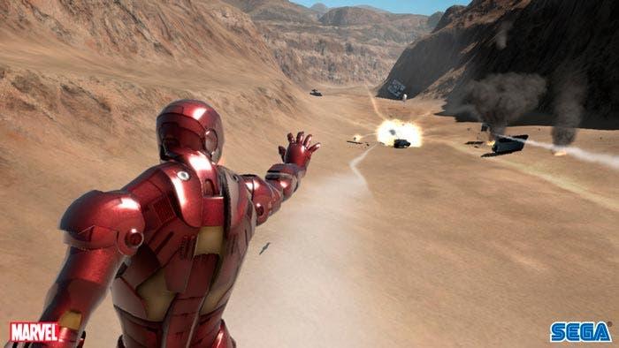 captura videojuego de iron Man