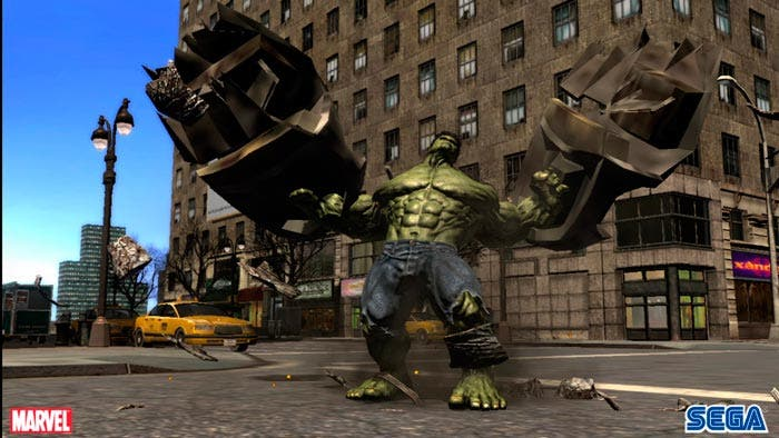 el increíble hulk videojuego