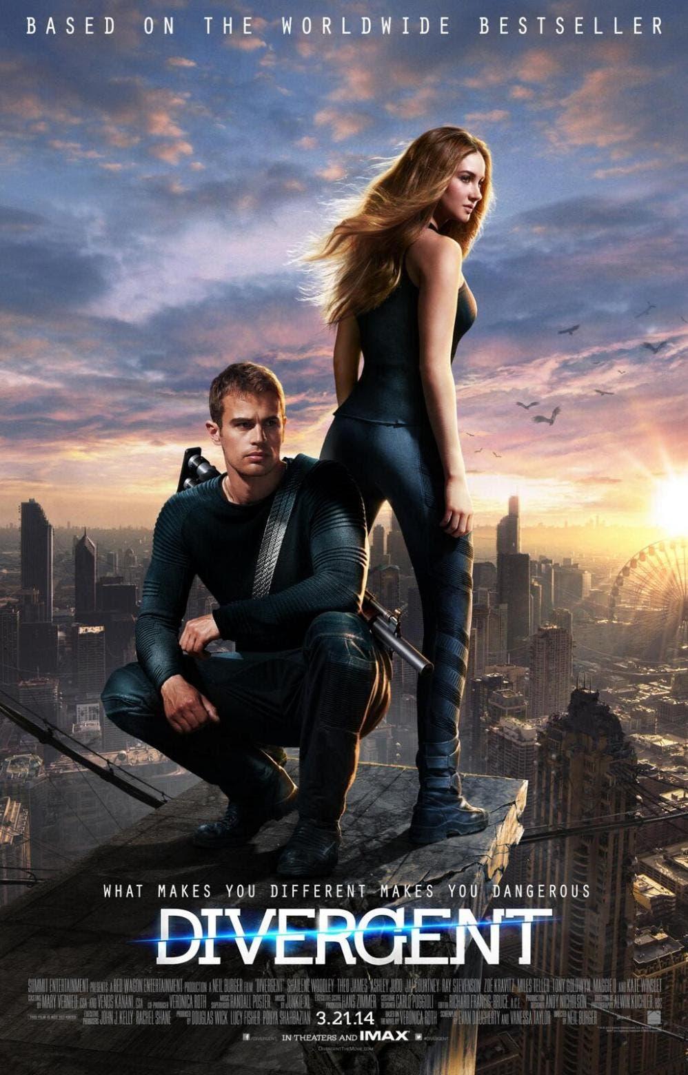 poster final de Divergente