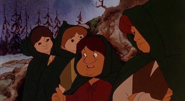 El señor de los anillos la versión animada de Ralph Bakshi