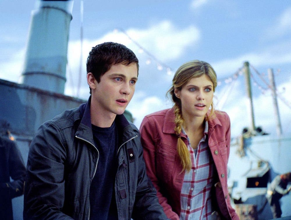 Logan Lerman Percy Jacksn el mar de los monstruos