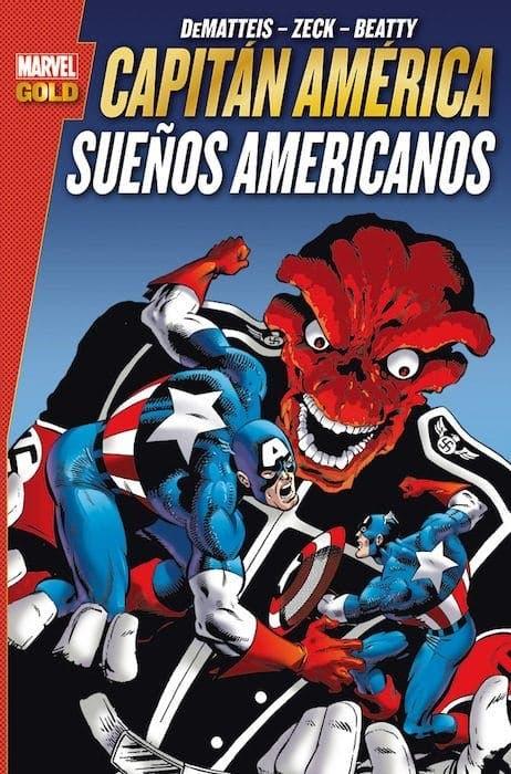 MARVEL GOLD CAPITÁN AMÉRICA SUEÑOS AMERICANOS
