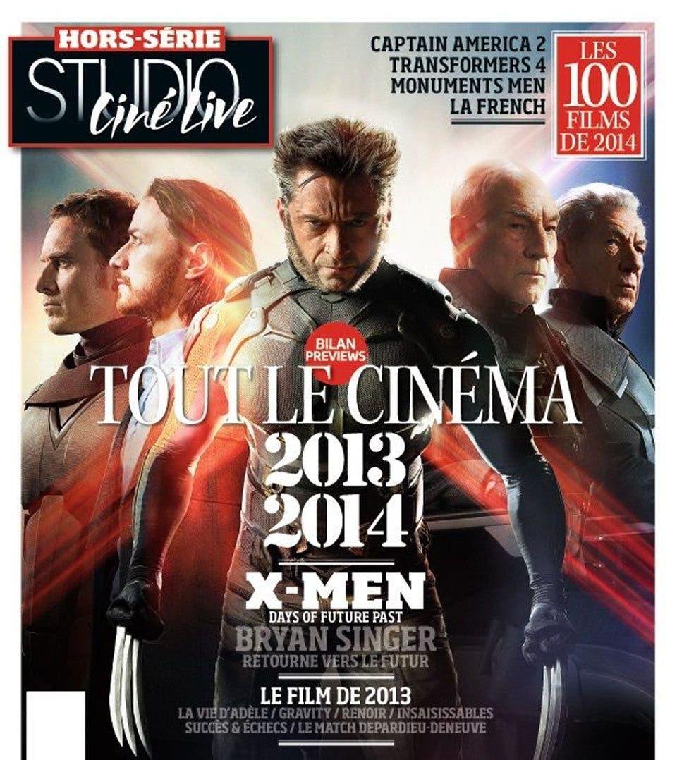 X-Men: Días del futuro pasado protagoniza la portada de Studio Ciné Live