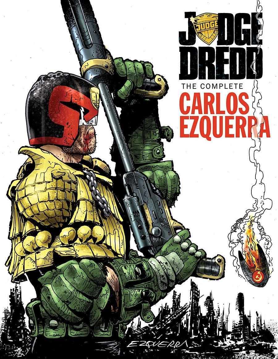 Portada Juez Dredd, Carlos Ezquerra