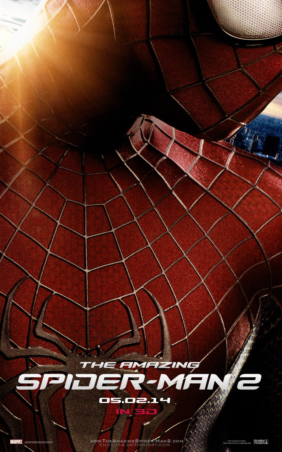 the amazing spider-man_2 teaser póster