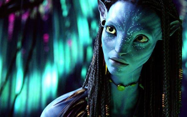 Zoe Saldana en Avatar