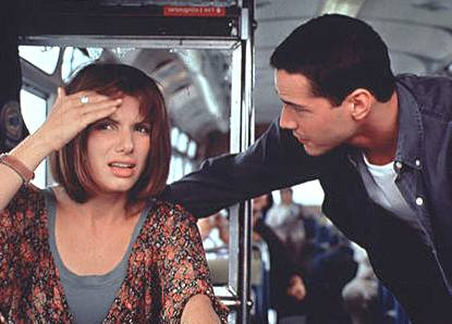 Sandra Bullock en Speed