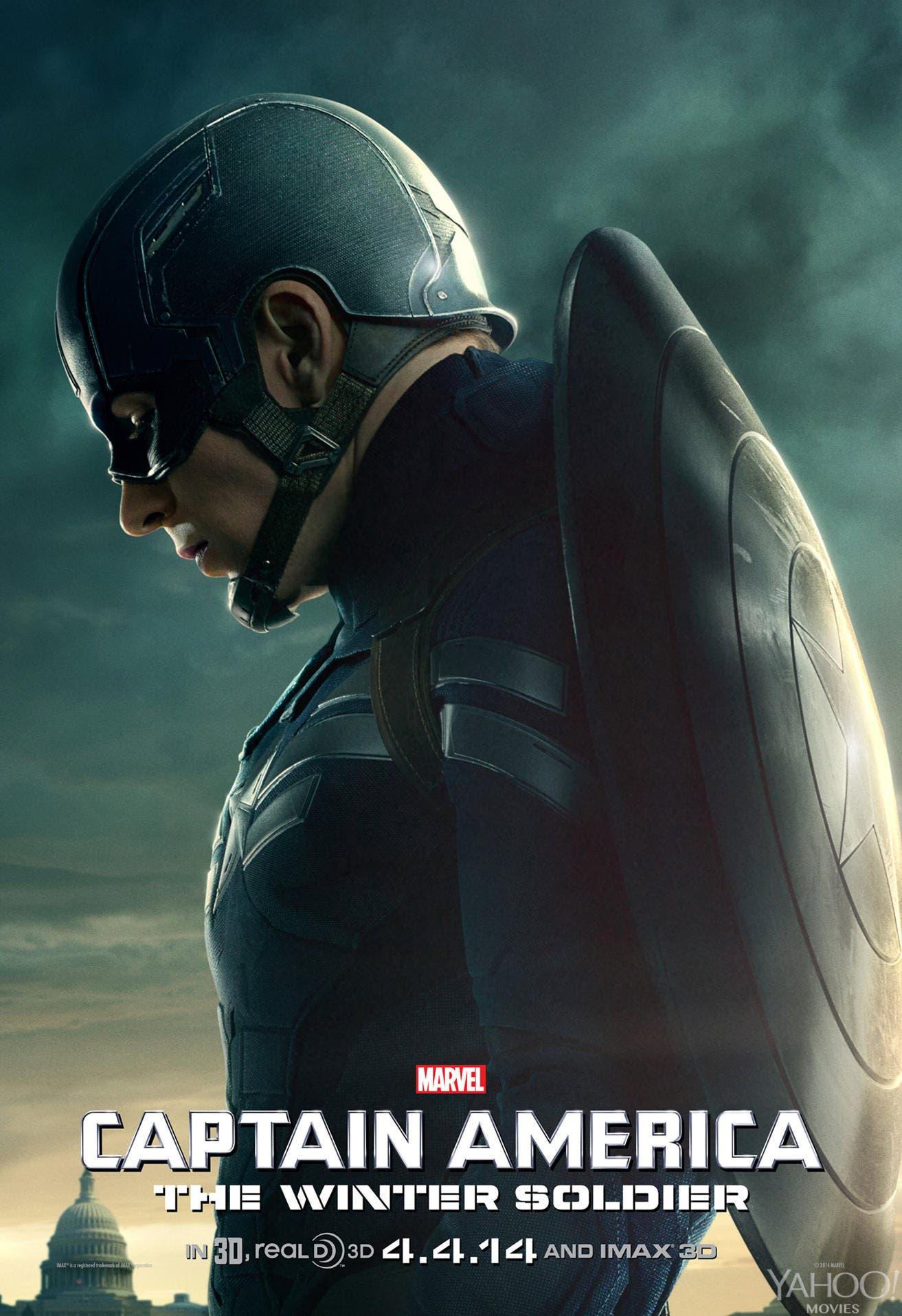 Poster Capitán América Soldado de Invierno