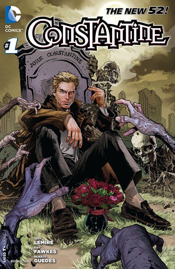Portada de Constantine #1 The New 52