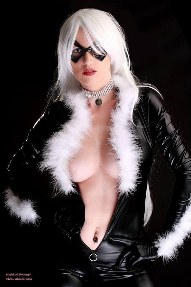 Cosplay Black Cat 1