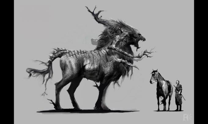 Concepts art de 'La leyenda del Samurái - 47 Ronin'