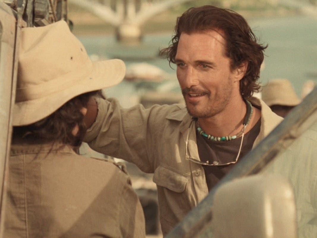 Matthew McConaughey Sahara