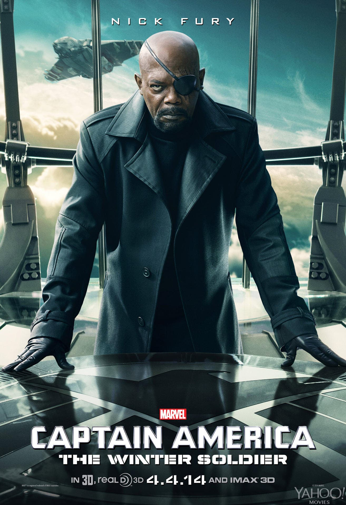 Nick Fury Capitan America Soldado de Invierno