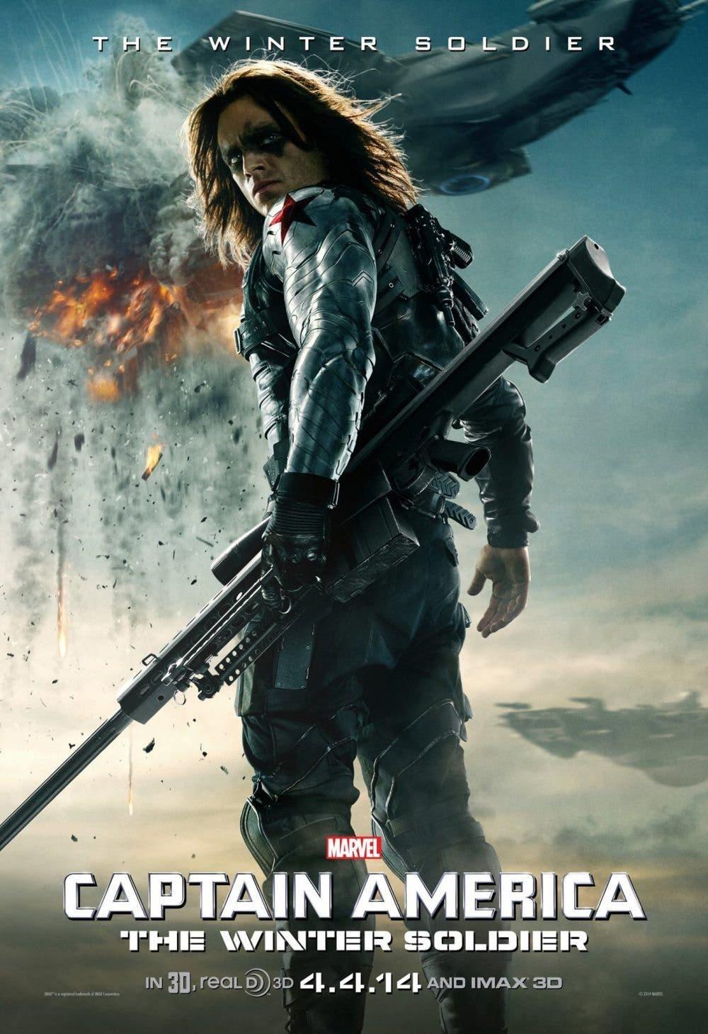 Poster Capitán América. El Soldado de invierno