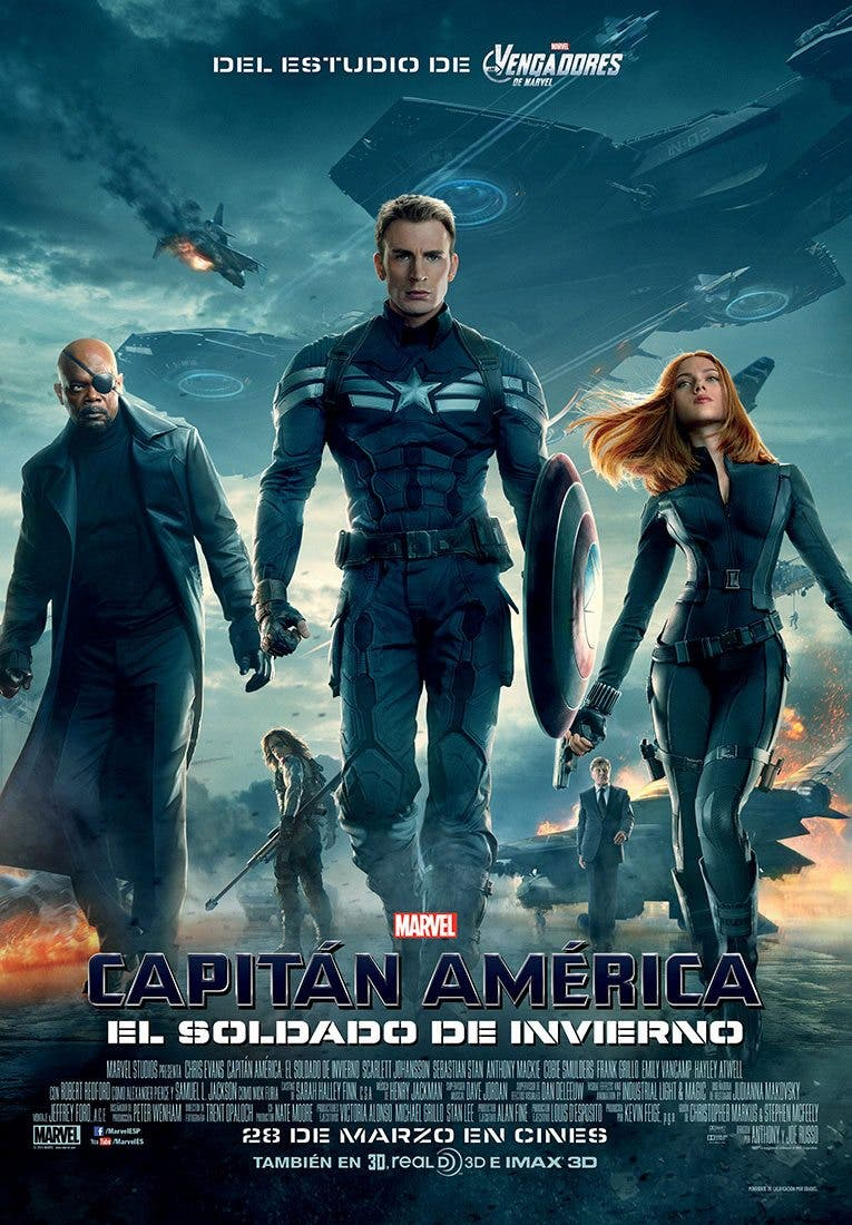 EL CAMINO HACIA VENGADORES: INFINITY WAR: Capitán América: El Soldado de Invierno (2014)