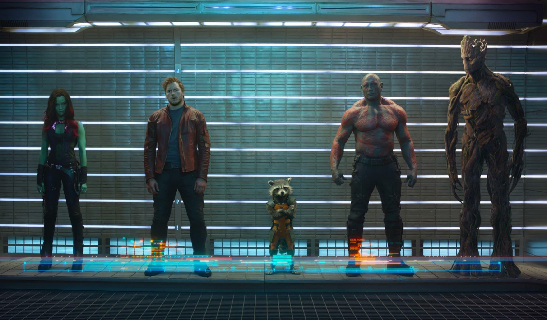 Primera imagen oficial de Los guardianes de la galaxia