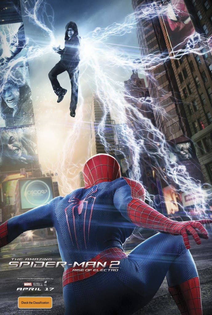 Poster The Amazing Spider-man 2: El poder de Electro