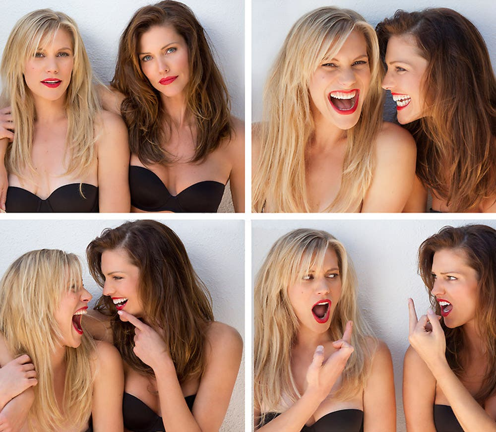 Katee Sackhoff & Tricia Helfer