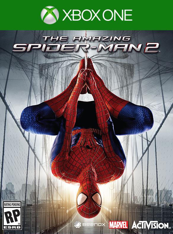 portada de The Amazing Spider-man 2 el Videojuego