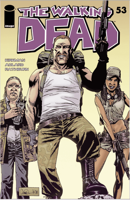 The Walking dead cover 53