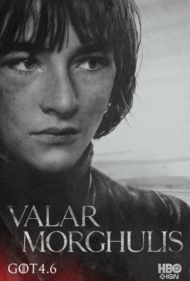 Póster temporada 4 Juego de Tronos Bran Stark