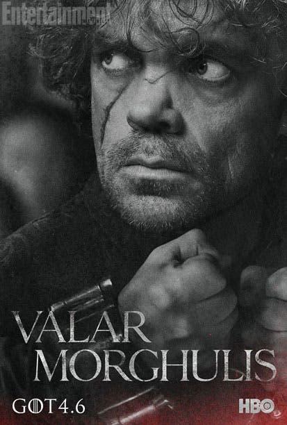 Póster temporada 4 Juego de Tronos Tyrion Lannister