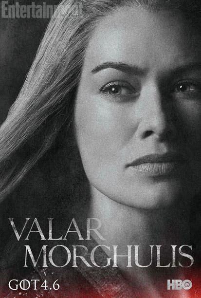 Póster 4 temporada Juego de Tronos Cersei