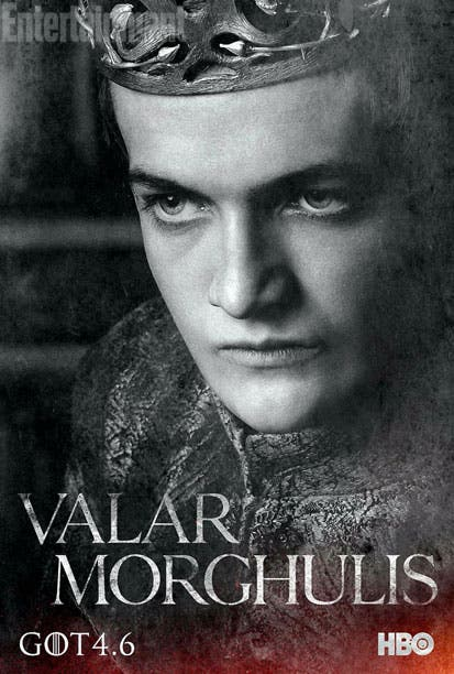 Póster 4 temporada Juego de Tronos Joffrey
