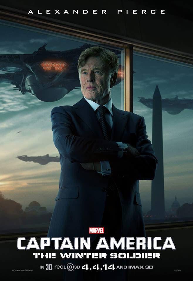 Poster Capitán América. El soldado de invierno, Alexander Pierce