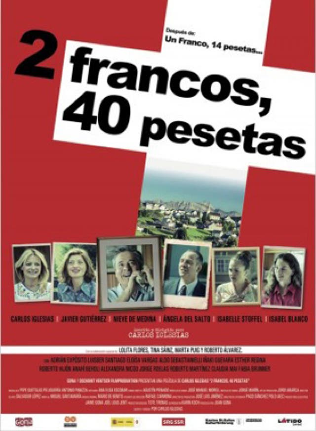 2 francos 40 pesetas Estrenos de cine