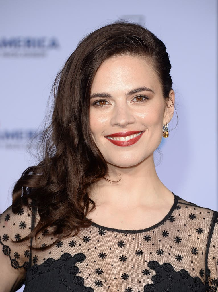 Hayley Atwell es Peggy Carter