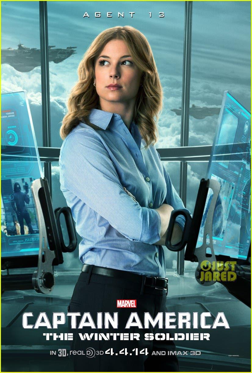 Emily VanCamp's 'Agente 13. Capitán América. El soldado de invierno