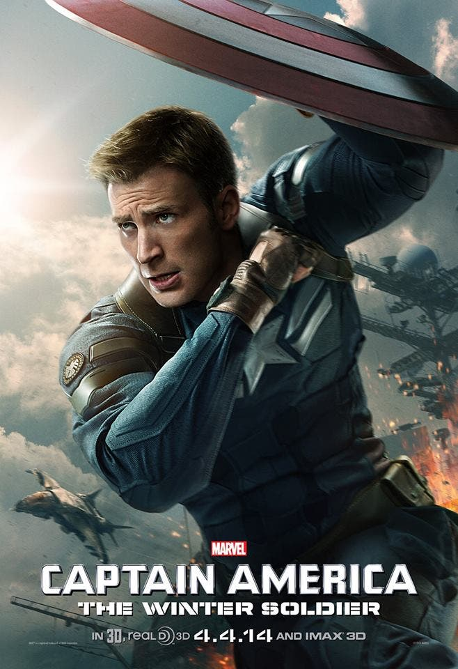 Poster 'Capitán América. El Soldado de invierno'