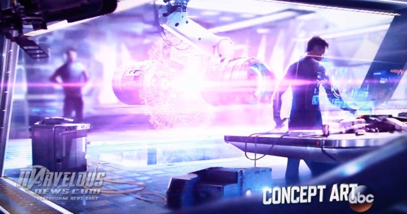 Concept art Marvel Los Vengadores La era de Ultron