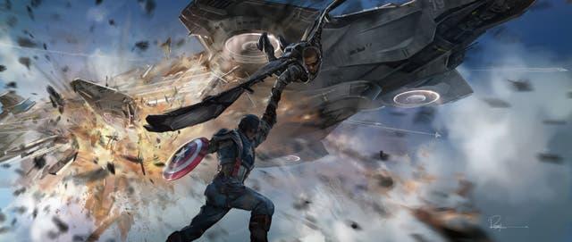 Concept art Capitán América: El soldado de invierno