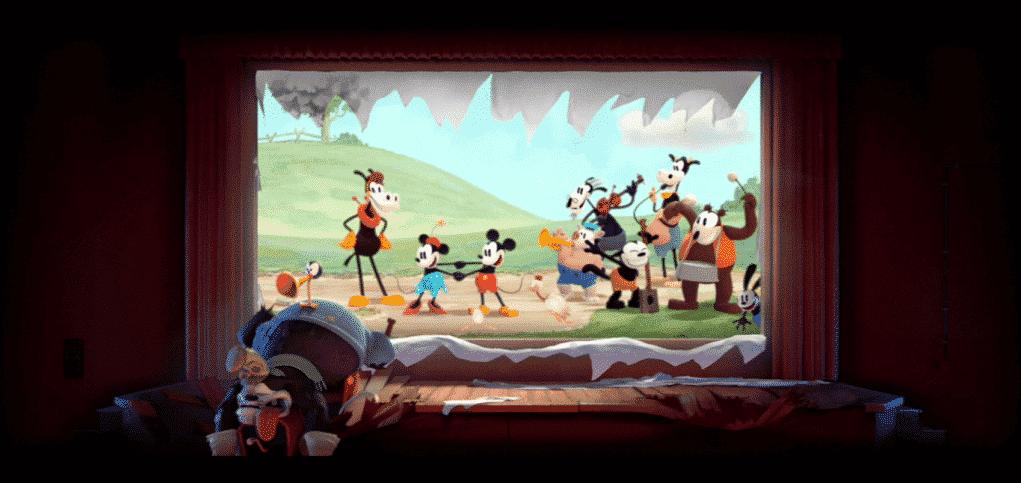 Get a Horse! corto de animación Disney