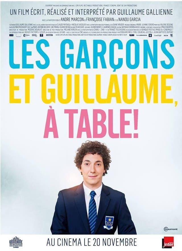 Guillaume y los chicos a la mesa