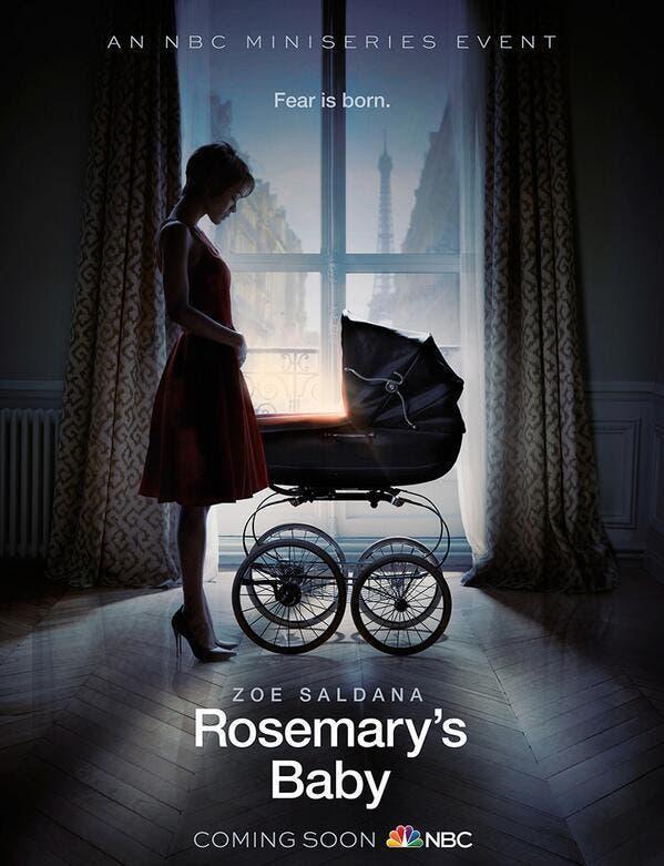 Poster de la nueva adaptación de la novela de terror, Rosemary's Baby