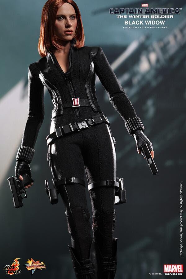 Scarlett Johansson en Capitán América. El Soldado de Invierno