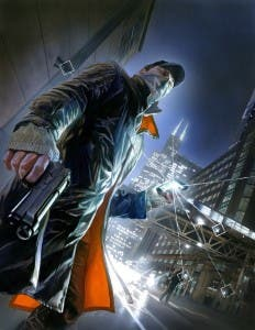 Ilustración de Alex Ross para Watch Dogs