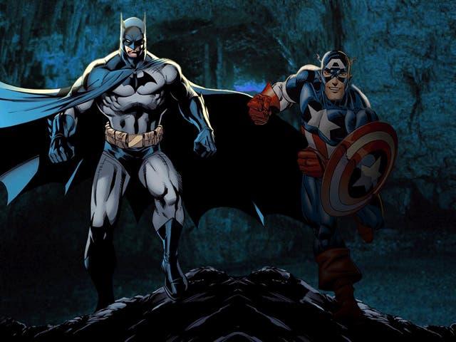 Batman y El capitán Amércia