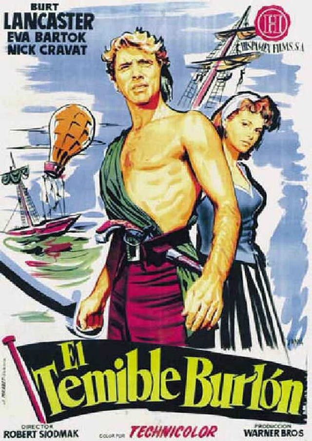 El Temible Burlon con Burt Lancaster