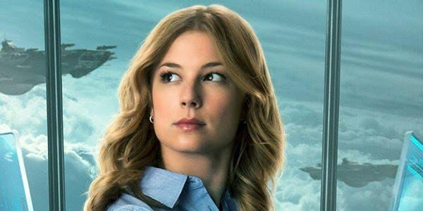 Emily VanCamp's Sharon Carter Agente 13 Capitán América. El soldado de invierno