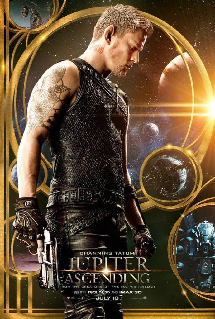 Póster de 'Jupiter Ascending' con Channing Tatum