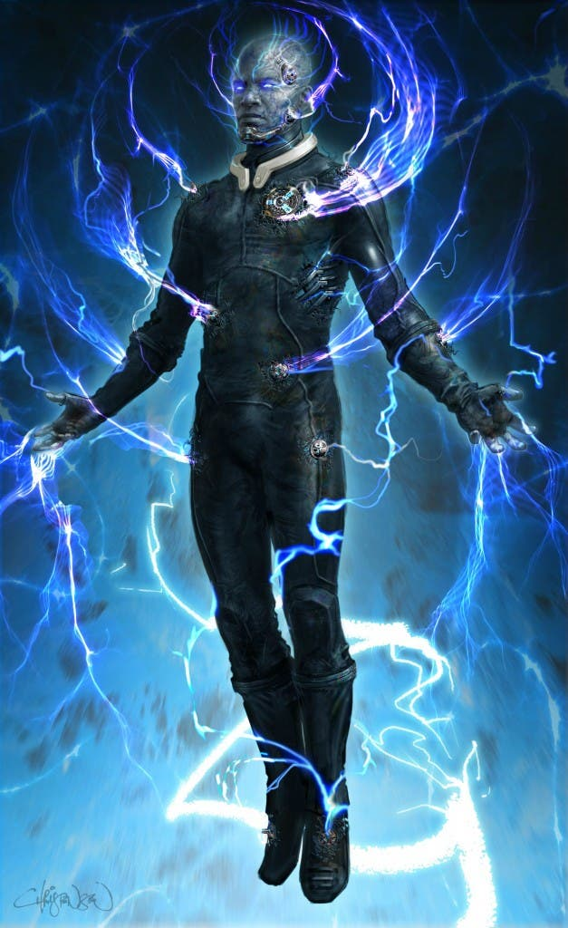 Concept art de Keith Christensen, Concept art de Keith Christensen, Concept art de Keith Christensen de The amazing Spider-man 2: El poder de Electro