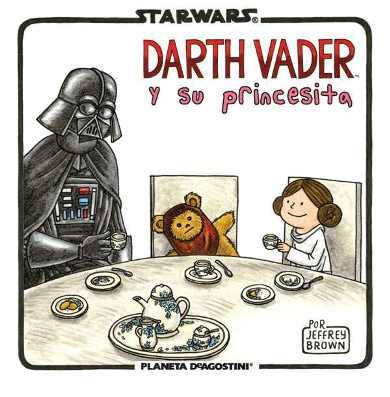 Vader y su princesita Transformers