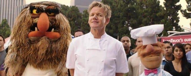 El Chef Ramsay en El tour de los de Muppets