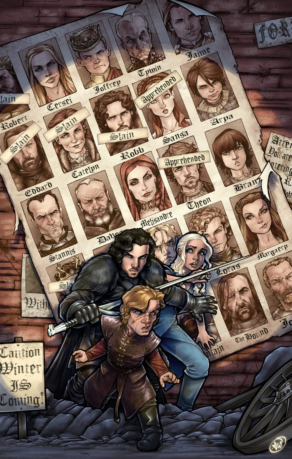 Fan art Games of Thrones Days of future past