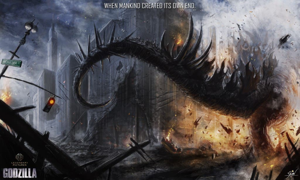Godzilla Art of Destruction